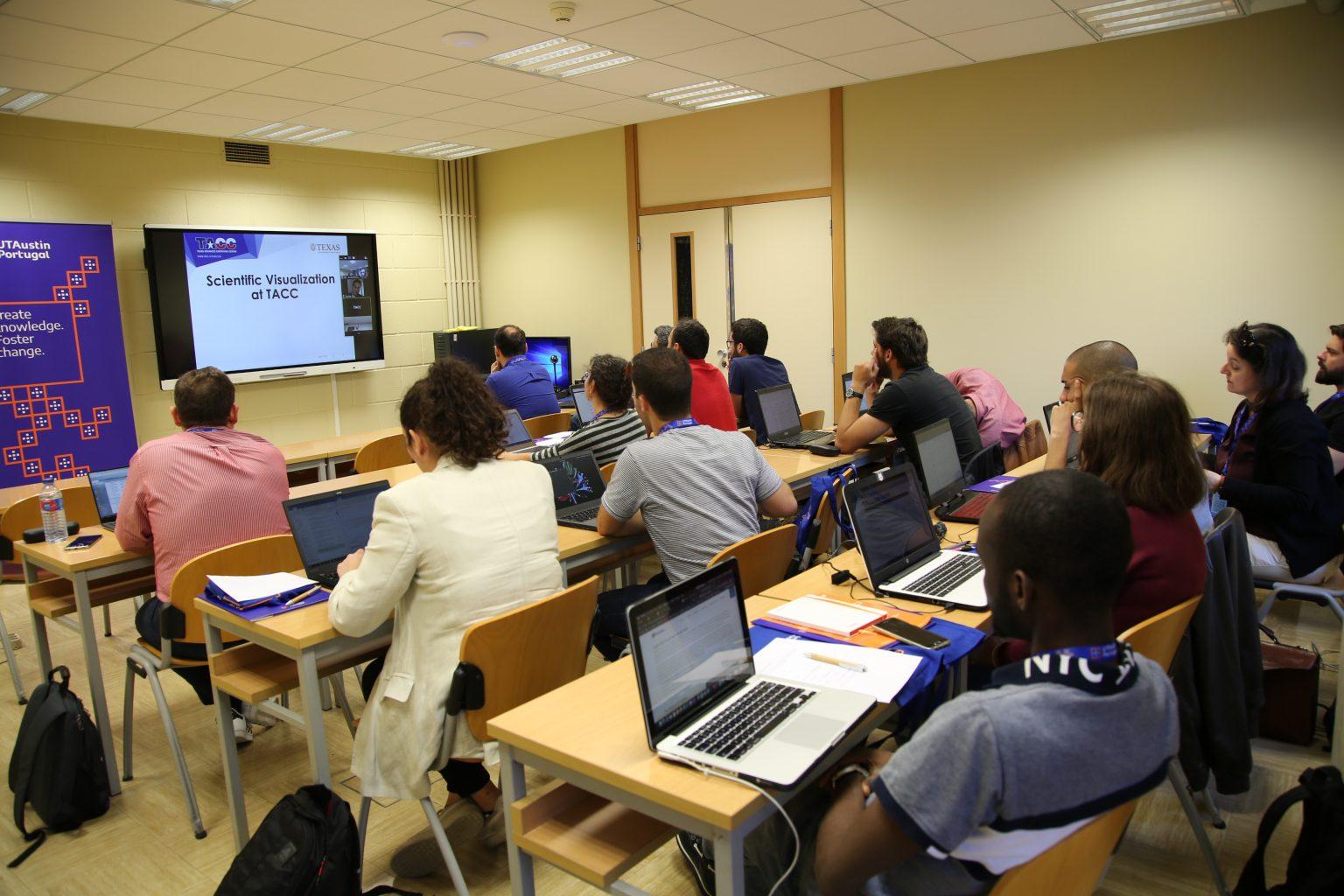 Immersive Training in Advanced Scientific Visualization